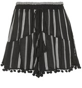 Band of Gypsies Surplice Pom Pom Shorts by Band of Gyspies