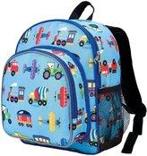 N. Wildkin Pk 'n Snack Backpack - Train, Planes & Trucks - One Size