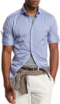 Brunello Cucinelli Piqué Knit Sport Shirt