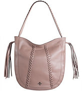 Oryany As Is Pebbled Leather Braided Hobo - Chelsea