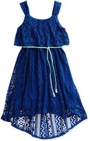 Sweet Heart Rose Popover Dress, Little Girls (2-6X)