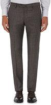 Incotex Men's S-Body Slim-Fit Wool Trousers-GREY