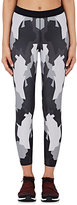 Ultracor Women's Turf-Print Microfiber Leggings-BLACK