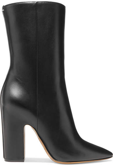 Maison Margiela Leather Boots - Black
