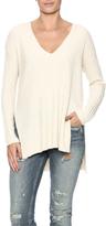 Lush V-Neck Ribbed Sweater