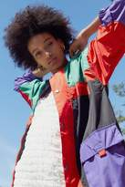 Urban Outfitters UO Oversized Colorblock Windbreaker Jacket
