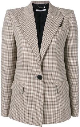 Givenchy Checked Single-Breasted Jacket