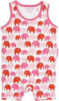 House of Fraser Toby Tiger Girl organic sleeveless romper