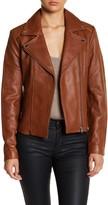 Soia & Kyo Ladies Leather Motorcycle Jacket