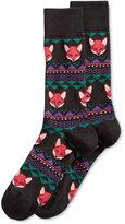 Hot Sox Men's Fox Fair Isle Socks