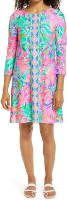 Lilly Pulitzer Ophelia It Was All a Dream Engineered Print Swing Dress