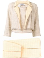 Chanel Pre Owned 1999's three piece suit