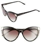 Ted Baker Women's 57Mm Cat Eye Sunglasses - Black