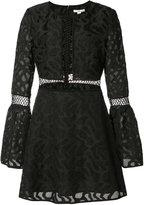Zac Posen Zarya floral crochet dress - women - Cotton/Nylon/Polyester/polyester - 8