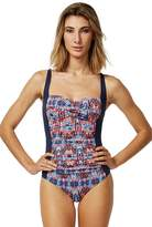 Moontide Sanur Gathered Twist Front One Piece