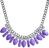Johnny Loves Rosie Statement Jewelled Bib Necklace