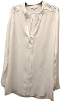 Patrizia Pepe White Silk Top for Women