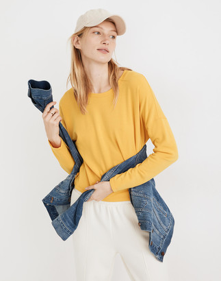 Madewell MWL Superbrushed Easygoing Sweatshirt