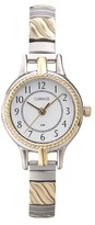 Timex Women's Carriage by Expansion Band Watch - Two Tone C3C359TG