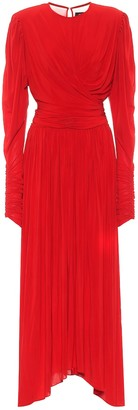 Isabel Marant Jucienne crepe jersey dress