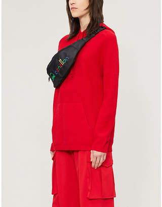 Benetton Unisex wool-blend hoody