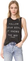 Spiritual Gangster Follow Your Soul Muscle Tank