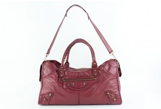 Balenciaga City Pink Leather Travel bags