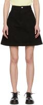 A.P.C. Black Stella Skirt