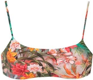 Lygia & Nanny Frida print Cancun bikini top