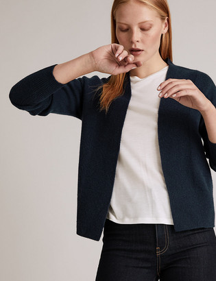 Marks and Spencer Pure Cashmere Textured Cardigan