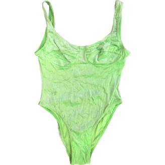 Hunza G Green Swimwear for Women Vintage