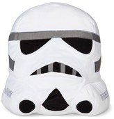 "Star Wars Storm Trooper Head Decorative Pillow (13""x13"") White"