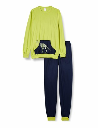 Calida Boy's T-rex Pajama Set