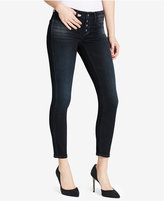 Jessica Simpson Kiss Me Button-Front Skinny Jeans