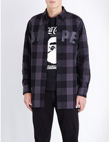 A Bathing Ape Regular-fit checked cotton shirt