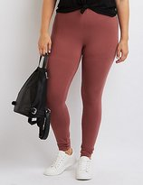 Charlotte Russe Plus Size Stretch Cotton Leggings