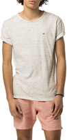 Hilfiger Denim Relax Stripe Crew Neck T-shirt, Marshmallow/multi