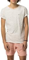 Tommy Hilfiger Relax Stripe Crew Neck T-Shirt, Marshmallow/Multi