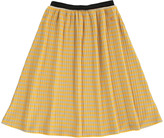 Bobo Choses Striped Organic Cotton Maxi Skirt