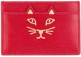 Charlotte Olympia 'Feline' card holder - women - Leather - One Size