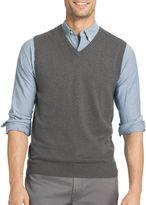 Izod V Neck Cotton Sweater Vest