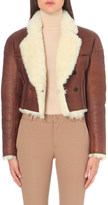 Joseph Cropped heirloom shearling jacket