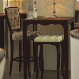 Tufted Barstool-Pear