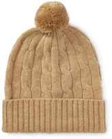 Ralph Lauren Cable-Knit Cashmere Beanie