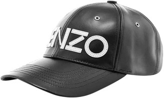 Kenzo Black Leather Hats & pull on hats
