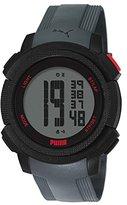 Puma Men's PU911151002 Next Grey Digital Display Quartz Grey Watch