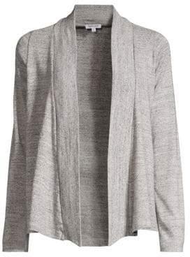 Splendid Women's Open Front Cardigan - Gravel Heather Grey - Size Small