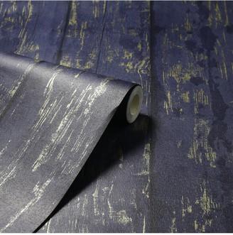 Arthouse Metallic Washed Wood Wallpaper