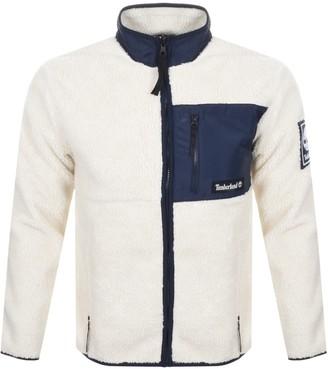 Timberland Sherpa Fleece Jacket Cream