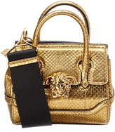 Versace Palazzo Empire Leather Shoulder Bag